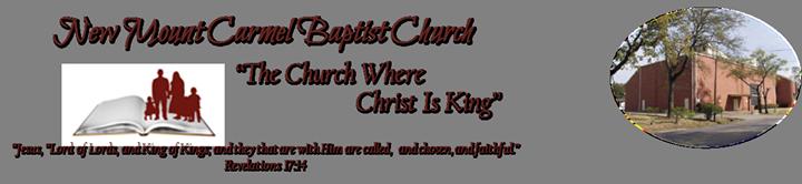 Logo for New Mount Carmel Baptist Church